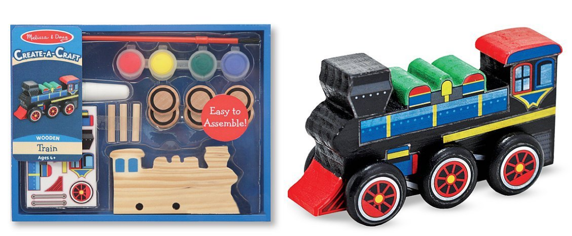 md train Amazon: Melissa & Dough Make Your Own Train only $5.99 (Reg. $8.99)