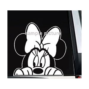 Minnie Mouse Car Decal