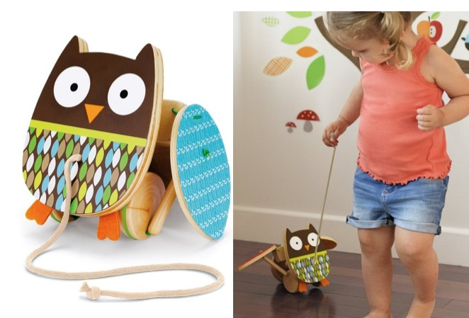 Amazon: Skip Hop Treetop Friends Flapping Owl Pull Toy Only $10.62 Shipped (Reg. $20.00)