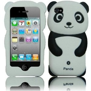 panda silicone iphone case