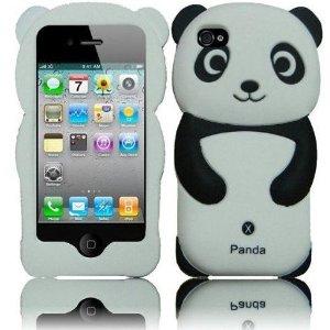 panda silicone iphone case