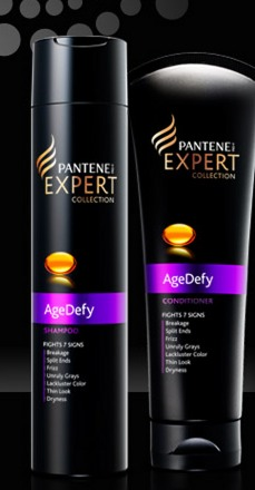 FREE Pantene AgeDefy Shampoo and Conditioner sample + $3 Coupon!