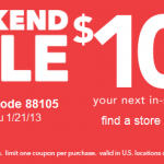 Payless Shoes: $10/$25 Coupon Valid for This Weekend Only!