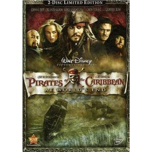 pirates of the caribbean on dvd