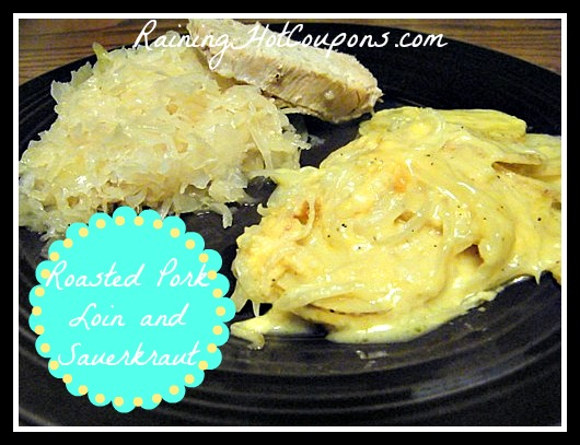 pork Crock Pot Roasted Pork and Sauerkraut Recipe