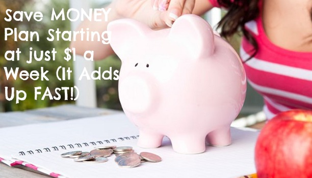 save money1 Easy Weekly Savings Plan (Starts at Just $1 a Week and Adds Up FAST!)