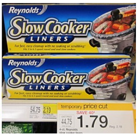 slow cooker liners at target