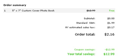 *HOT* FREE 20 Page Soft Cover Photo Book (Just Pay $2.99 Shipping!)