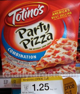 totinos pizza at target Target: Totinos Pizzas only $0.05 after Rebate!