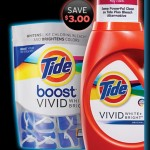 FREE Tide Boost Vivid White + Bright Detergent Sample and $3.00 Coupon