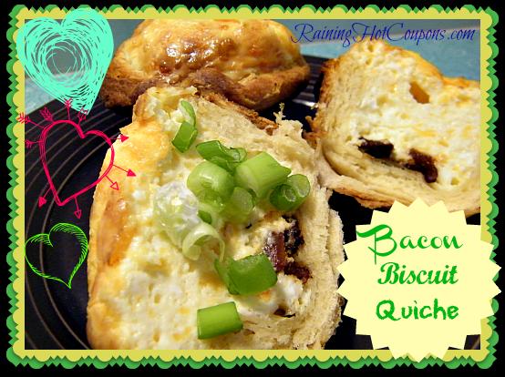 Bacon Biscuit Quiche Main