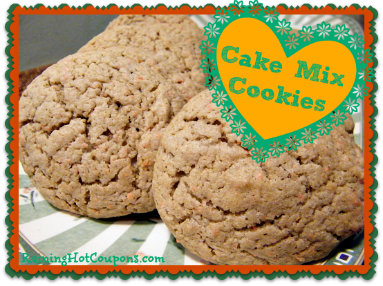 Cake Mix Cookies Recipe ~ Super Easy and Delicious!