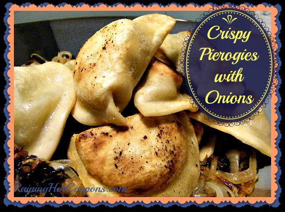 Crispy Pierogies with Onions