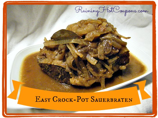 Easy Crock Pot Sauerbraten Easy Crock Pot Sauerbraten Recipe