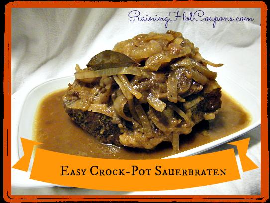 Easy Crock-Pot Sauerbraten