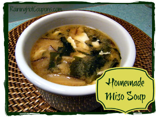 Homemade Miso Soup