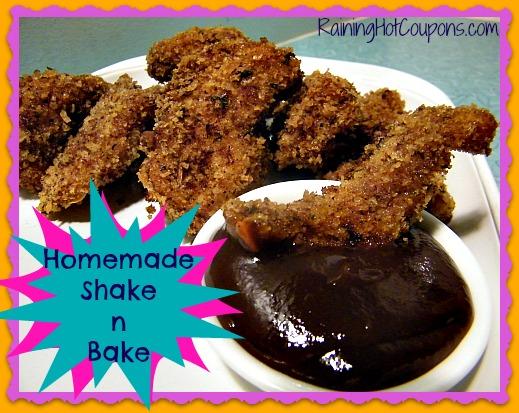 Homemade shake n bake recipe keep this on hand for Shake n bake fish