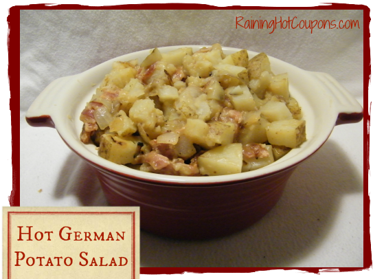 Hot German Potato Salad Hot German Potato Salad Recipe