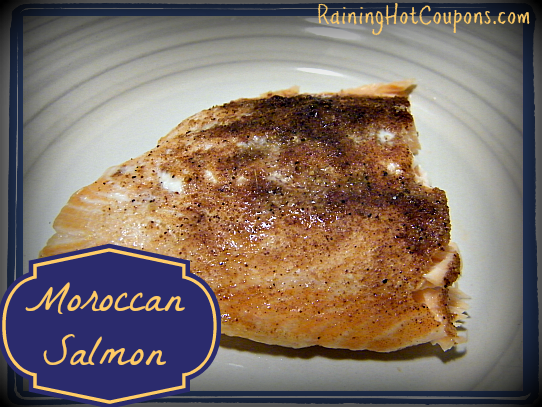 Moroccan Salmon ~ Spicy and Exotic, Yet So Very Simple!