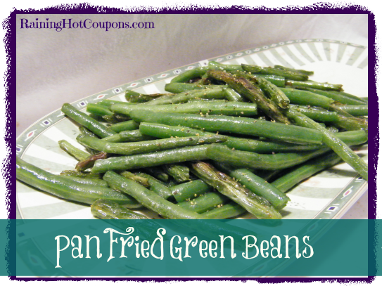 Pan Fried Green Beans Recipe