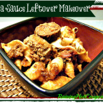 Pasta Sauce Leftover Makeover Recipe