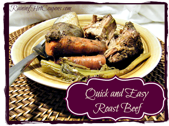 Quick and Easy Roast Beef