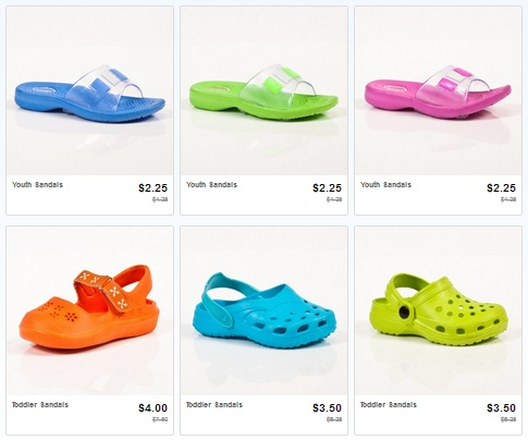 Shoes *HOT* Totsy: Summer Shoes for Kids as low as $2.25 Shipped!