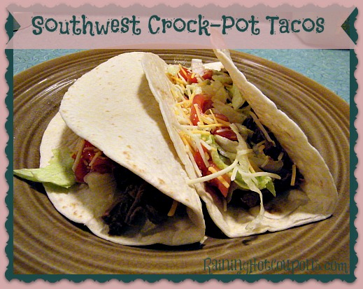 Southwest Crock-Pot Tacos