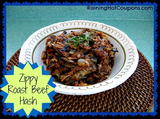 Zippy Roast Beef Hash