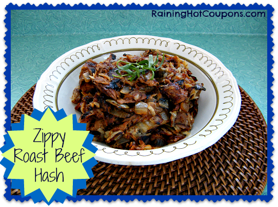 Zippy Roast Beef Hash Recipe