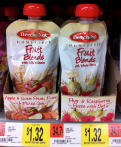 beechnut yogurt Walmart: Beechnut Yogurt Pouches only $0.66!