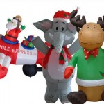 *HOT* 4 Foot Christmas Decor Inflatables Only $4 (reg. $40.00!)
