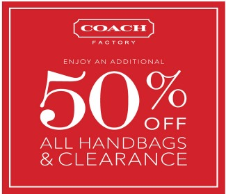 coach website promo code