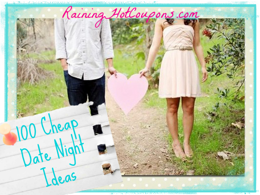 date night ideas1 100 Cheap Date Night Ideas