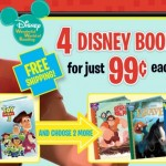 *HOT* 4 Disney Books & Activity Book Only $3.96 + FREE Shipping!