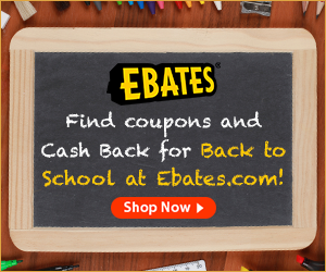 ebates back to school *HOT* Giveaway: 4 Raining Hot Coupons Readers WIN $50 Amazon Gift Cards from Ebates ($200 Total!)