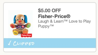 fisher price coupon