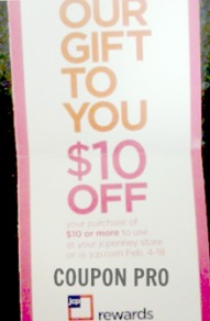 *HOT* JcPenney Coupon $10 off a $10 Purchase?! = FREE Items!