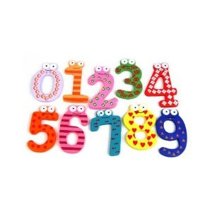 magnets Amazon: Colorful Numbers Fridge Magnet Set only $1.67 shipped!
