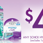 High Dollar $4 off Schick Hydro Coupon