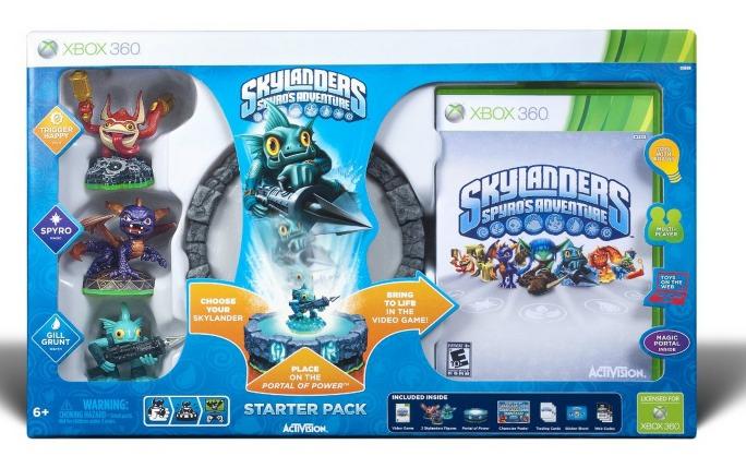 Amazon: Skylanders Spyros Adventure Starter Pack for Xbox 360 Only $34.97 + FREE Shipping (Reg. $69.99!)