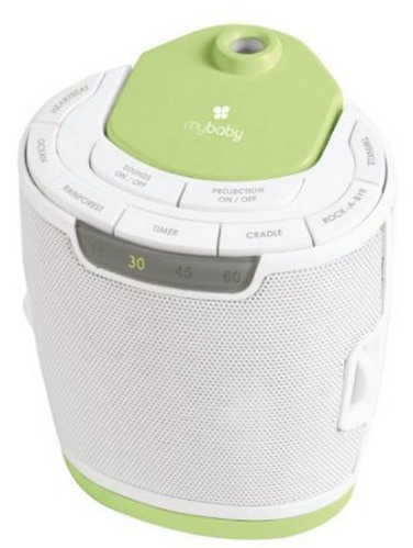 Amazon: myBaby Soundspa Lullaby Sound Machine and Projector Only $17.99 Shipped (Reg. $24.99!)