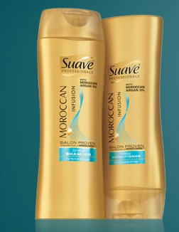 FREE Suave Moroccan Oil Hair Sample (First 100,000)