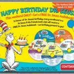 *HOT!* Dr. Seuss 5 Books + a Backpack AND FREE Audiobook Only $5.95 + FREE Shipping! (LIMITED Quantity!)