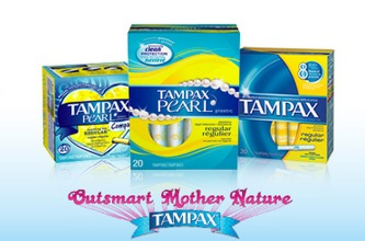 FREE Tampax Pearl and Pampax Pearl Compak Sample