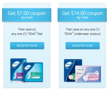 *HOT* $14/1 Tena Coupon = FREE (Plus FREE Sample)
