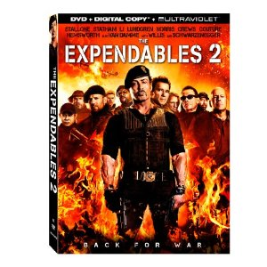 the expendables 2 dvd