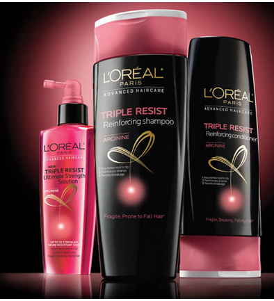 tripleresist Free Sample of LOreal Triple Resist Shampoo