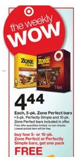 zone bars deal