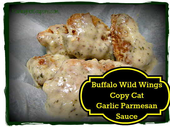 Garlic Parmesan Main Buffalo Wild Wings Copy Cat Garlic Parmesan Sauce Recipe
